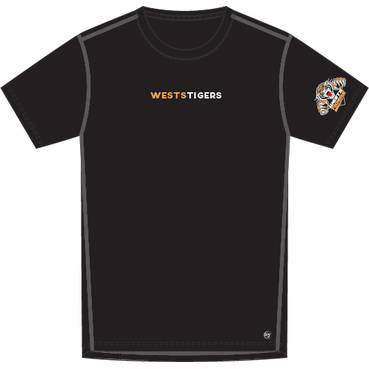 Wests Tigers '47 Forward Microlite SS Tee