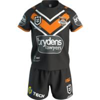 Wests Tigers 2019 Toddler Home Jersey Set2