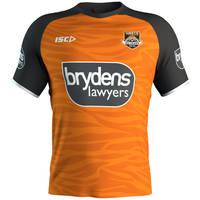 Wests Tigers 2019 Kids Orange Training Shirt1