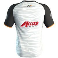 Wests Tigers 2019 White Training Shirt3