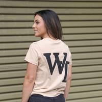Wests Tigers WT Ladies Tan Tee4