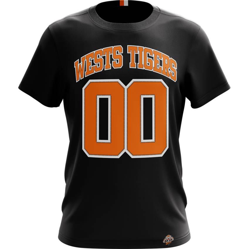 Wests Tigers Varsity Tee0