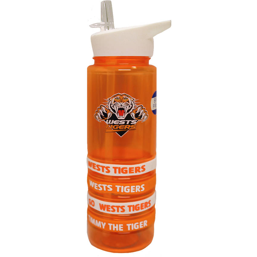 Wests Tigers Bottle with Bands0