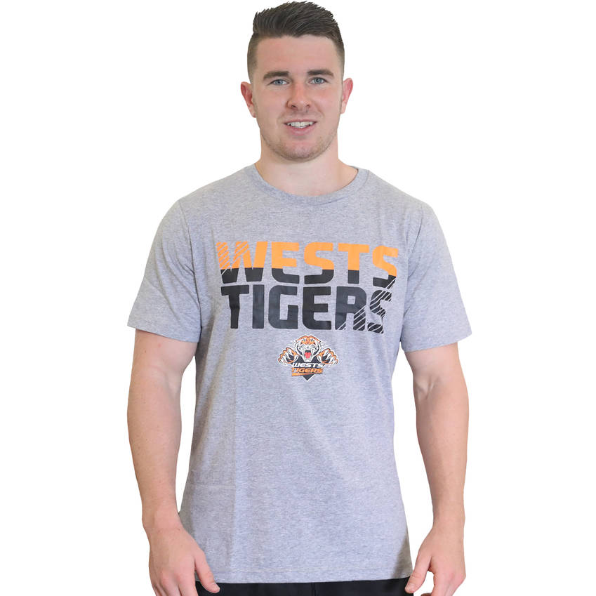 Wests Tigers Heather Lifestyle Tee0
