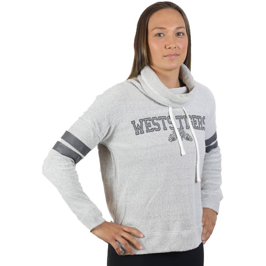 Wests Tigers '47 Womens Offside Funnelneck Jumper0