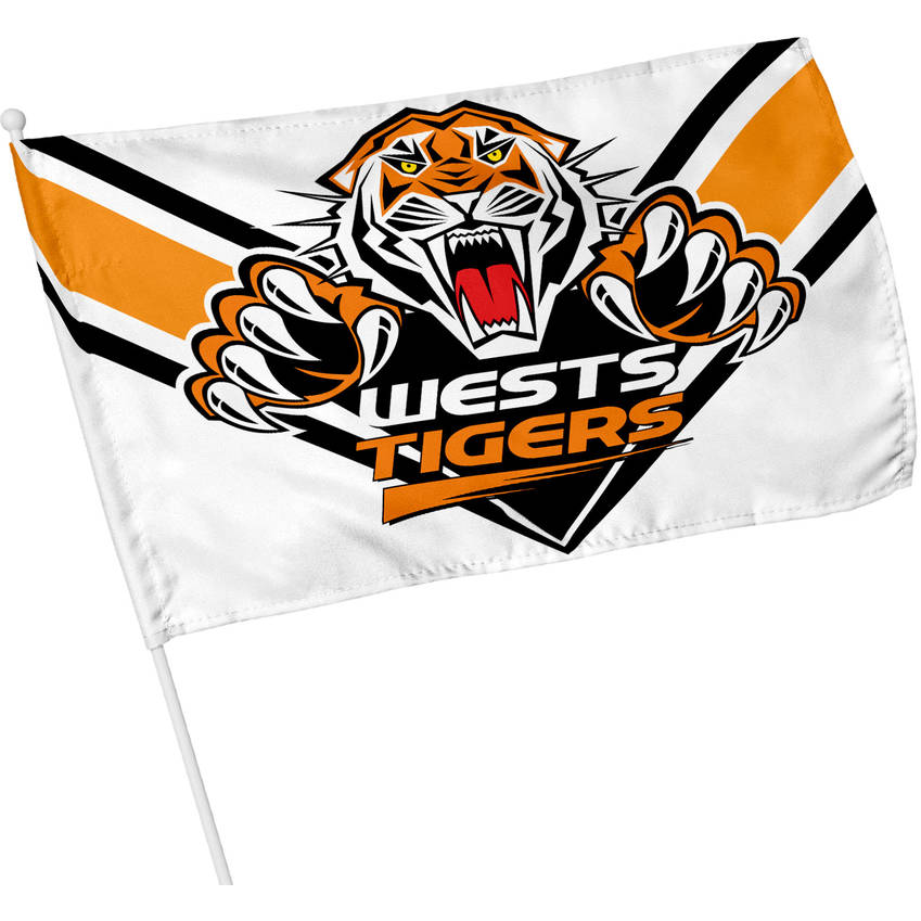 Wests Tigers 2020 Small Supporter Flag0