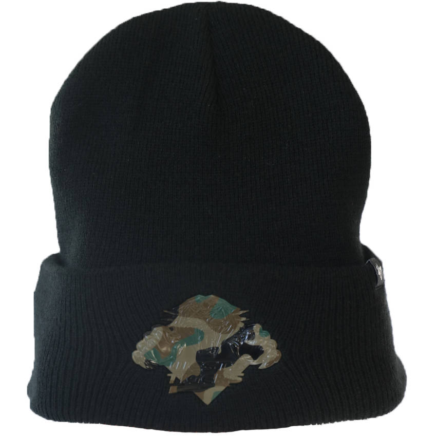 Wests Tigers '47 Camo Cuff Knit Beanie0