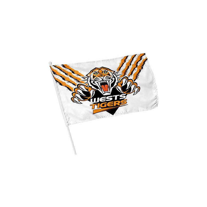 Wests Tigers Small Gameday Flag0