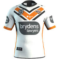Wests Tigers 2020 Beyond Blue Signed Player Issue Jersey 4 of 80