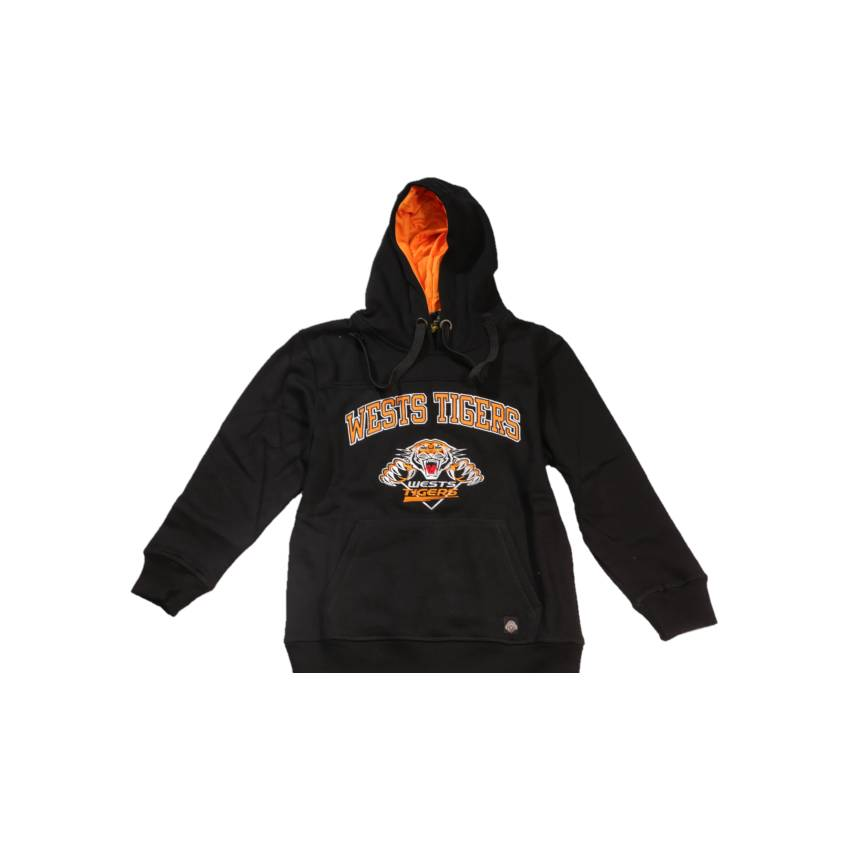 Wests Tigers Kids Club Fleece Hoodie0