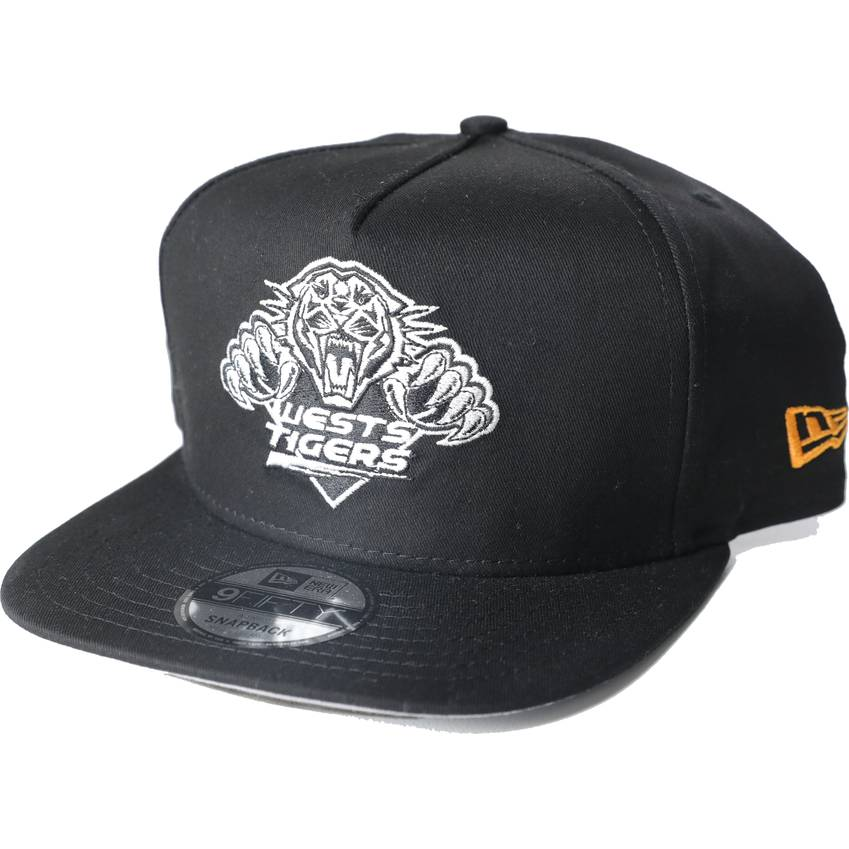Wests Tigers New Era 9Fifty A-Frame White Logo0