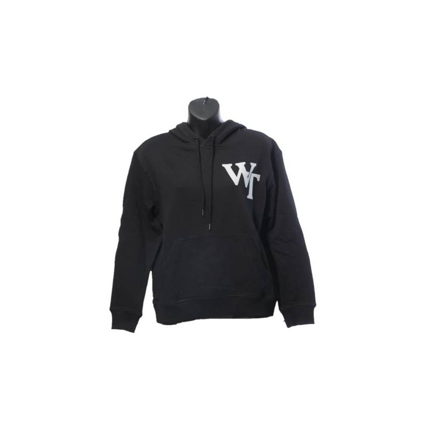 Wests Tigers Ladies Black Pullover Hoodie0