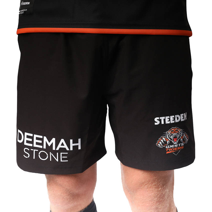 Wests Tigers 2021 Mens Training Shorts0
