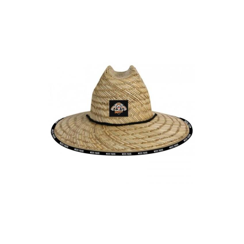 Wests Tigers Straw Hat0
