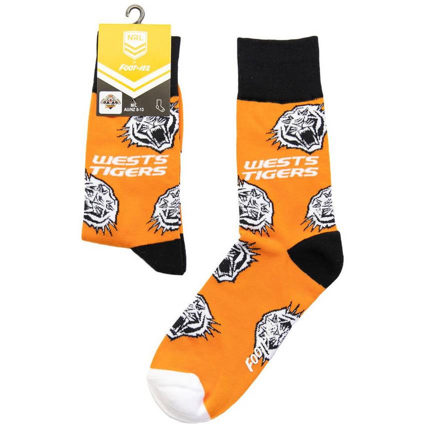 Wests Tigers Foot-ies Sock0