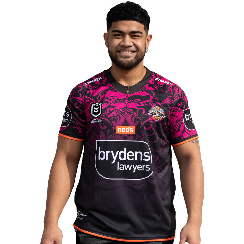 Wests Tigers 2021 Mens Women In League Jersey0