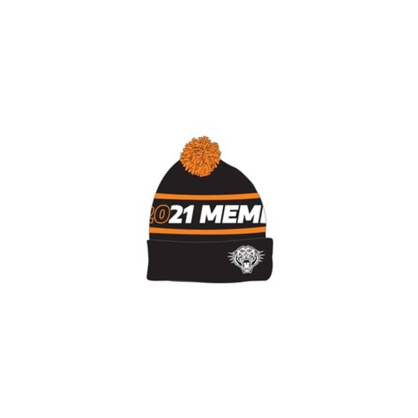 Wests Tigers 2021 Member Beanie0