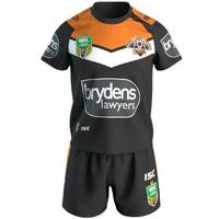 Wests Tigers 2018 Toddler Home Jersey Set1