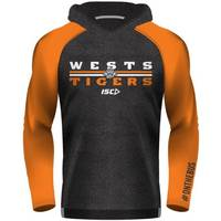 Wests Tigers Youth Warm Up Hoody2