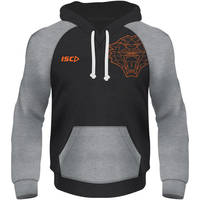 Wests Tigers  ISC Youth Geo Fleece Hoody2