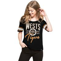 Wests Tigers '47 Ladies Coed Tee0
