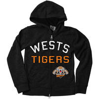 Wests Tigers Youth Zip Hoody1