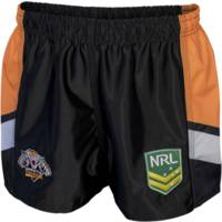 Wests Tigers Youth Home Supporter Shorts0