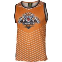 Wests Tigers Classic Youth Orange Sub Singlet1