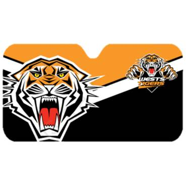 Wests Tigers Car Window Shade