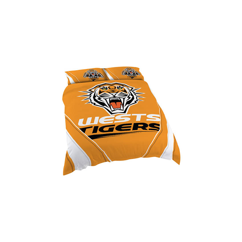 mainWests Tigers Queen Quilt Cover0