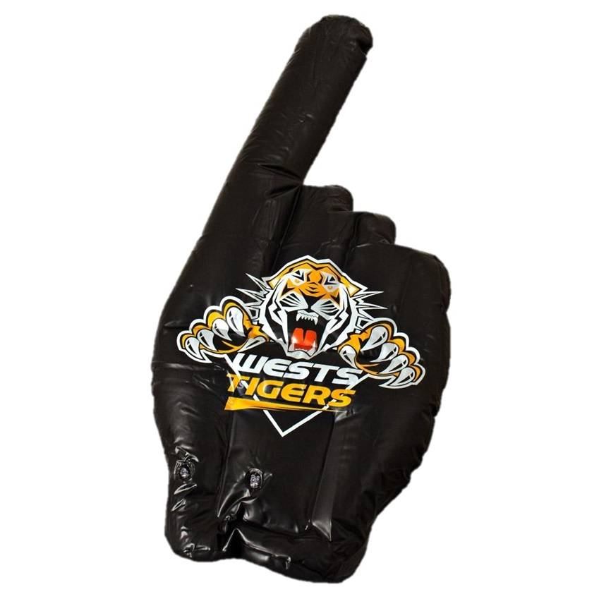 Wests Tigers Inflatable Hand0