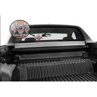 Wests Tigers See Thru Car Sticker1