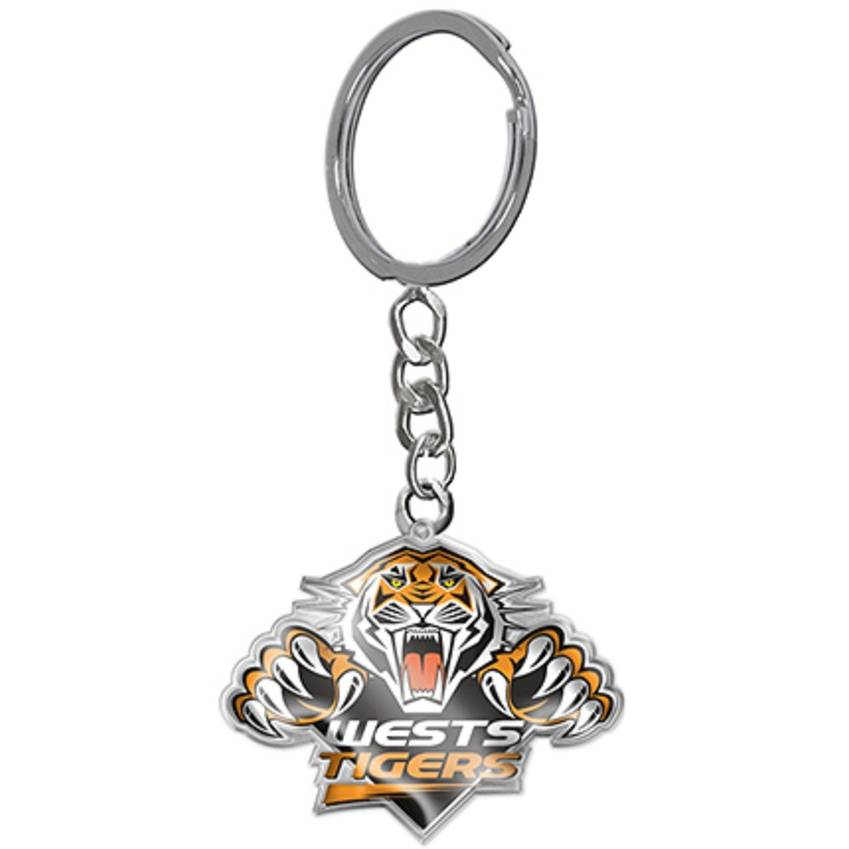 Wests Tigers Logo Keyring0