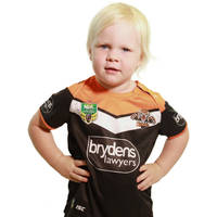 Wests Tigers 2018 Toddler Home Jersey Set0