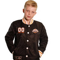 Wests Tigers Classic Youth Baseball Jacket0