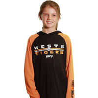 Wests Tigers Youth Warm Up Hoody0