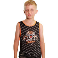 Wests Tigers Classic Youth S18 Sub Singlet0