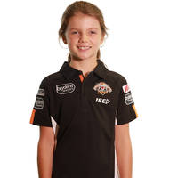 Wests Tigers 2018 Youth Media Polo1