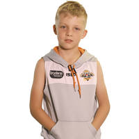 Wests Tigers 2018 Youth Sleeveless Squad Hoody0
