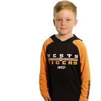 Wests Tigers Youth Warm Up Hoody1