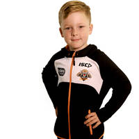 Wests Tigers Youth ISC Workout Hoody0