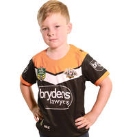 Wests Tigers 2018 Youth Home Jersey0