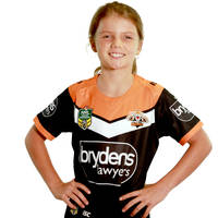 Wests Tigers 2018 Youth Home Jersey1