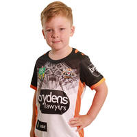 Wests Tigers 2018 Youth Away Jersey0