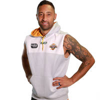 Wests Tigers 2018 Sleeveless Squad Hoody0
