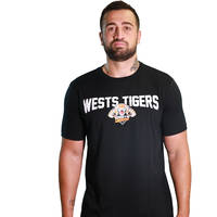 Wests Tigers Classic S18 Logo Cotton Tee0