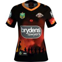 Wests Tigers 2018 Ladies ANZAC Round Jersey0