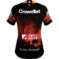 Wests Tigers 2018 Ladies ANZAC Round Jersey1
