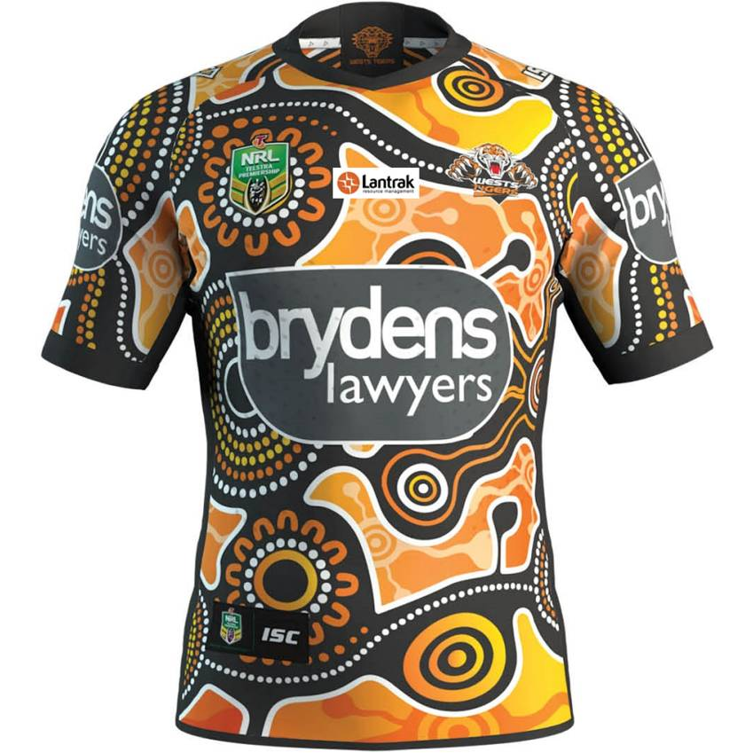 Wests Tigers 2018 Indigenous Jersey  1 6309d2055