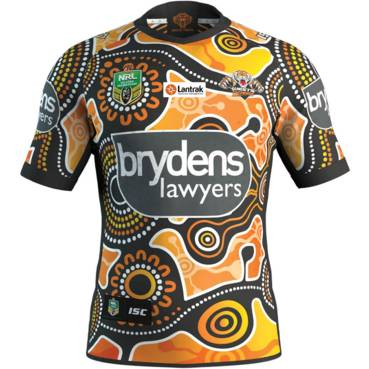 Wests Tigers 2018 Indigenous Jersey #4